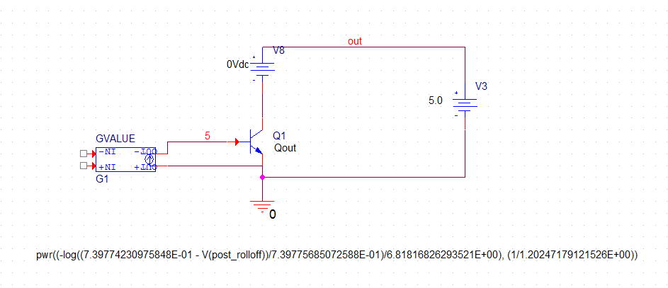 Advanced Transfer formulas for Voltage Controlled Current sources