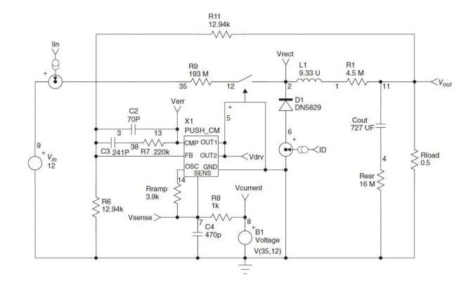 Generic Current Mode Controller in Buck Circuit