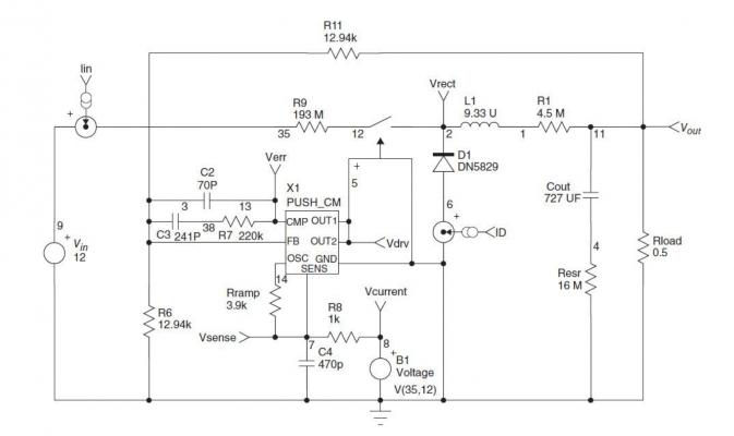 Generic Current Mode Controller in Buck Circuit