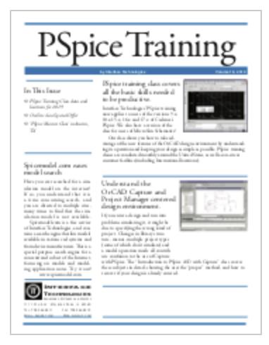 2019 OrCAD PSpice Training